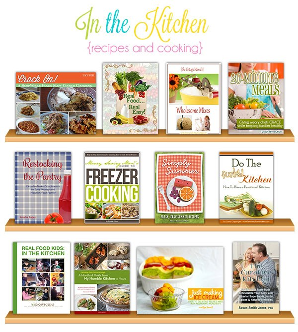 Kitchen and Cooking Books