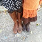 Matching Boots & an Orange Experiment