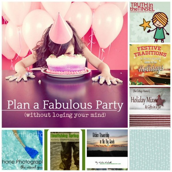 Ebooks for planning Events and Holidays