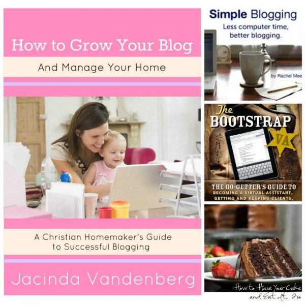 ebooks for blogging and working from home