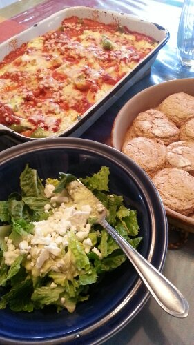 30 real food dinners our family favorites kitchenwise ricotta stuffed peppers29 more real food dinner ideas forumfinder Gallery