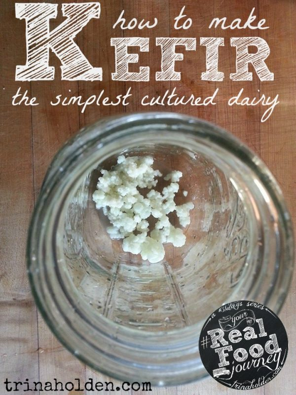 Kefir is the easiest cultured dairy--learn how to make it, where to get grains, and how to enjoy kefir!
