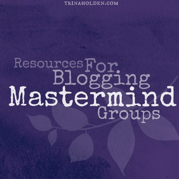 Resources for Mastermind Groups