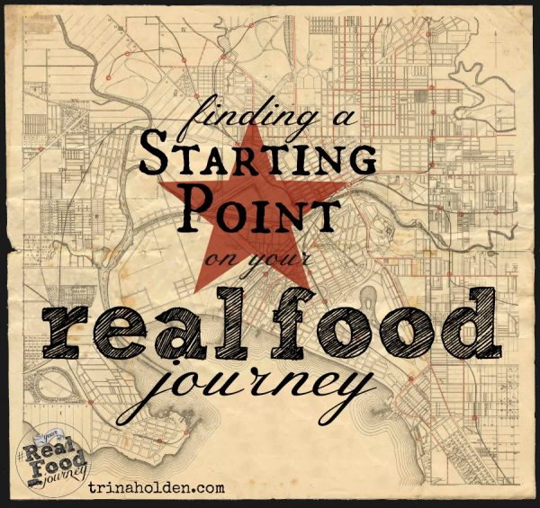 finding a starting point with real food