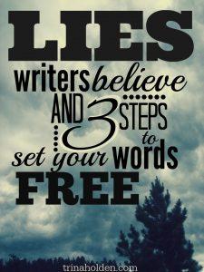 lies writers believe