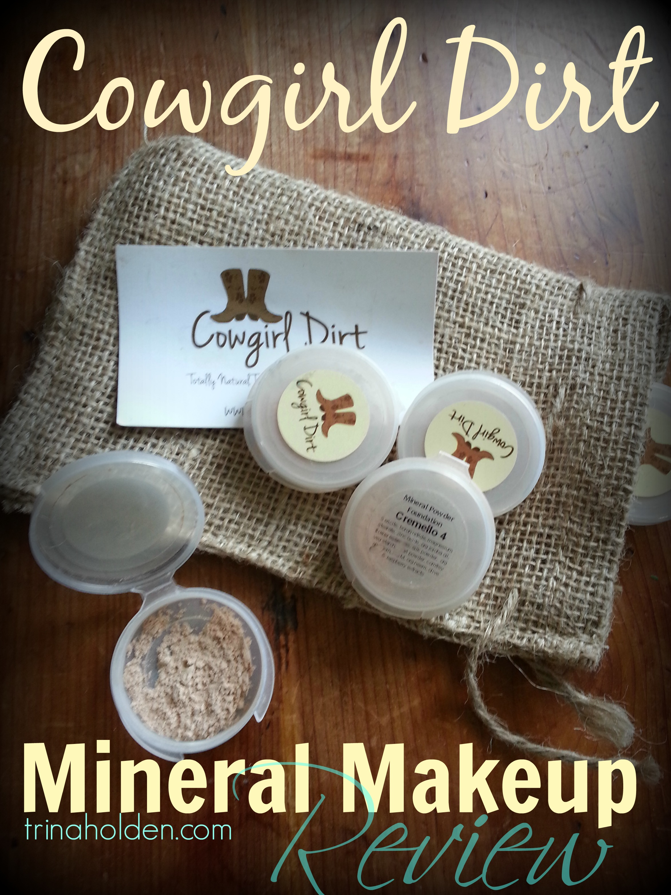 Cowgirl Dirt: A Mineral Makeup Review - KitchenWise