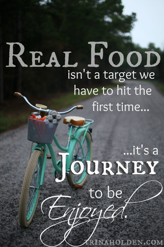 real food is a journey