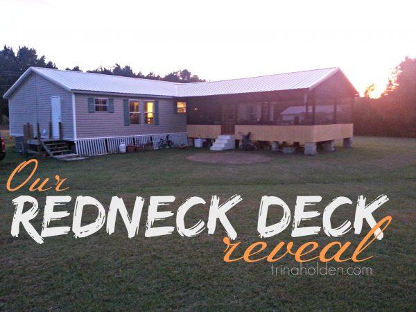 redneck deck