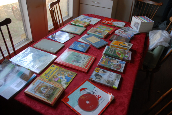 Advent Book Calendar on a Budget