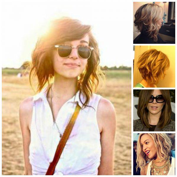 Wavy Lob Hair Inspiration