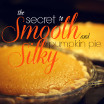 the simple steps that take pumpkin pie to the next level