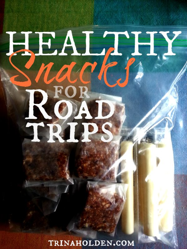 Here's a list of healthy snacks for road trips that will fill you up without a sugar high!